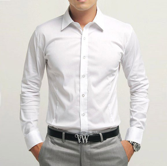 Three things affordable dress shirts for men should for Mens formal white shirts