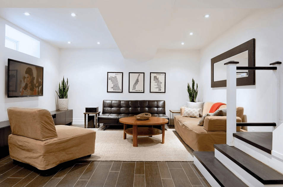 Brown-Leather-Couch-Basement-1